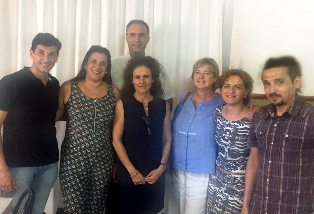 Foto de grupo de la Constitución de Fundación Uner