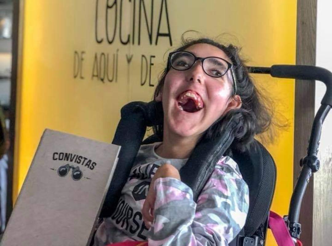 Carla, paciente con Parálisis cerebral infantil (PCI)