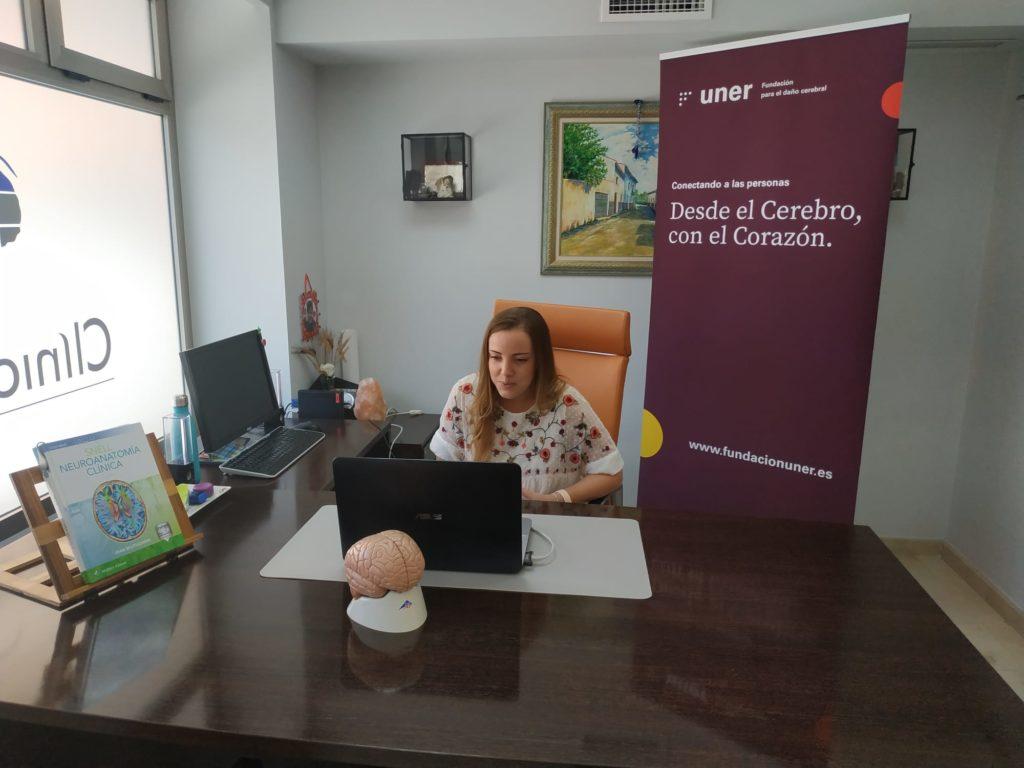 Marina González, logopeda en fundación uner