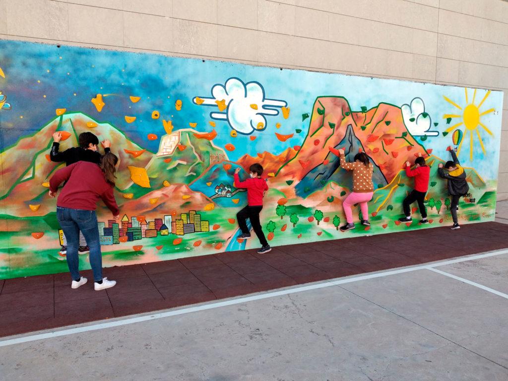 Escuela Inclusiva de navidad en Novelda organizada por Fundación Uner